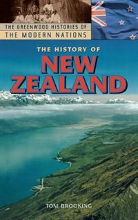 Book The History Of New Zealand by Tom Brooking