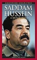 Book Saddam Hussein: A Biography by Shiva Balaghi