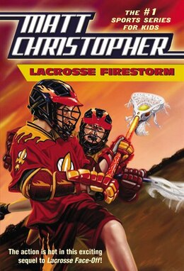 Book Lacrosse Firestorm by Matt Christopher