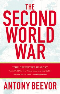 Book The Second World War by Antony Beevor