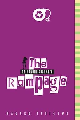 Book The Rampage Of Haruhi Suzumiya by Nagaru Tanigawa