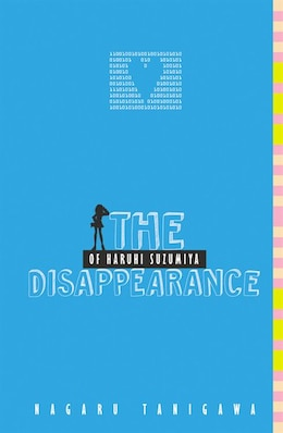 Book The Disappearance Of Haruhi Suzumiya by Nagaru Tanigawa