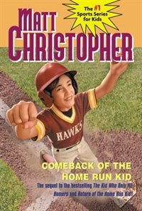 Book Comeback Of The Home Run Kid by Matt Christopher