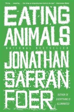 Book Eating Animals by Jonathan Safran Foer