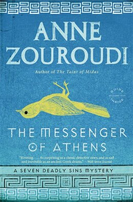 Book The Messenger Of Athens: A Novel by Anne Zouroudi