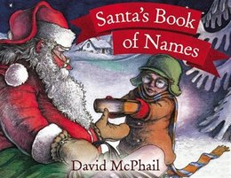 Book Santa's Book Of Names by David McPhail