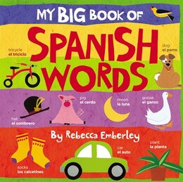 Book My Big Book of Spanish Words by Rebecca Emberley