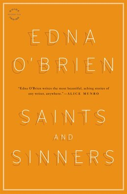 Book Saints And Sinners: Stories by Edna Obrien