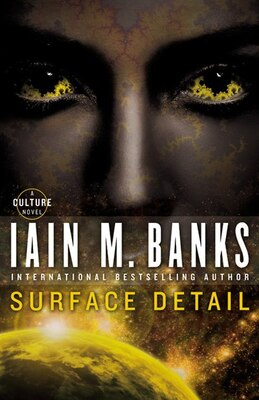 Book Surface Detail by Iain M Banks