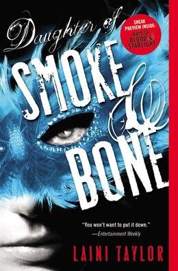 Book Daughter Of Smoke & Bone by Laini Taylor