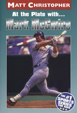 Book At the Plate with...Marc McGwire by Matt Christopher