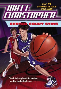 Book Center Court Sting by Matt Christopher