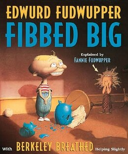 Book Edwurd Fudwupper Fibbed Big by Berkeley Breathed