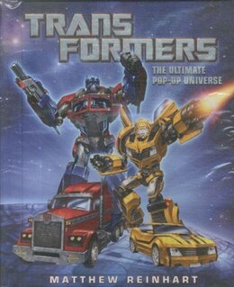 Book Transformers: The Ultimate Pop-up Universe by Matthew Reinhart