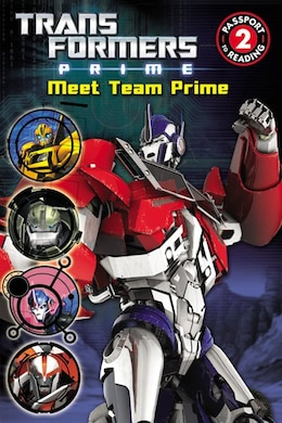 Book Transformers Prime: Meet Team Prime by Kirsten Mayer
