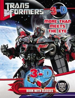 Book Transformers More Than Meets The Eye: 3d Book With Glasses by Hasbro