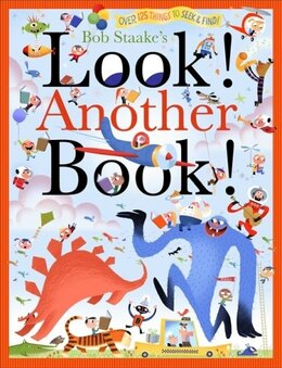 Book Look! Another Book! by Bob Staake