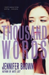 Book Thousand Words by Jennifer Brown