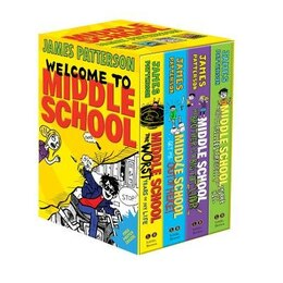 Book Middle School Boxed Set by James Patterson