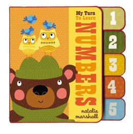 Book My Turn To Learn Numbers by Natalie Marshall