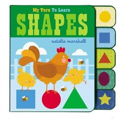 Book My Turn To Learn Shapes by Natalie Marshall