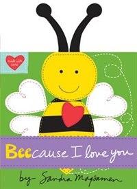 Book Beecause I Love You by Sandra Magsamen