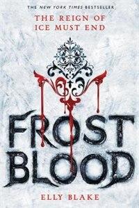 Livre Frostblood de Elly Blake