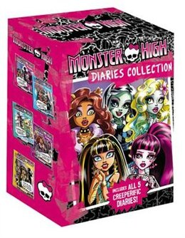 Book Monster High Diaries Collection by Nessi Monstrata