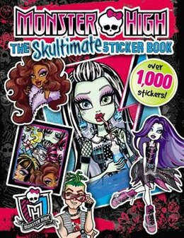 Book Monster High:  The Skultimate Sticker Book by Mattel