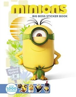 Book Minions: Big Boss Sticker Book by Universal