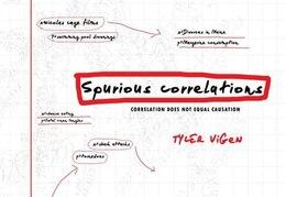 Book Spurious Correlations by Tyler Vigen