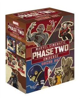 Book Marvel Cinematic Universe Phase Two Box Set by Alex Irvine