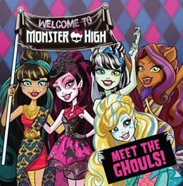 Book Monster High: Meet The Ghouls! by Justus Lee