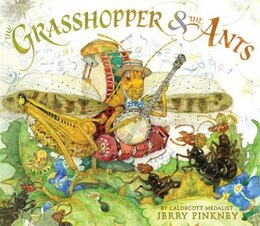 Book The Grasshopper & The Ants by Jerry Pinkney