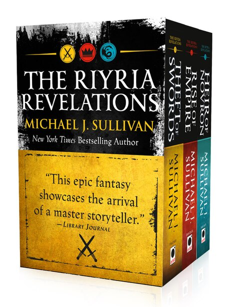 The Riyria Revelations: Theft Of Swords, Rise Of Empire, Heir Of Novron by Michael J. Sullivan