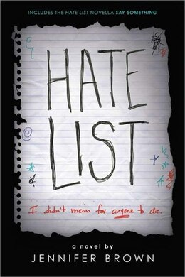 Book Hate List by Jennifer Brown