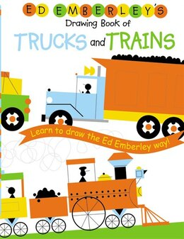 Book Ed Emberley's Drawing Book Of Trucks And Trains by Ed Emberley