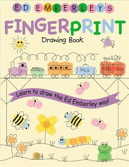 Book Ed Emberley's Fingerprint Drawing Book: Learn to Draw the Ed Emberley Way! by Ed Emberley