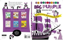 Book Ed Emberley's Big Purple Drawing Book: Learn to Draw the Ed Emberley Way by Ed Emberley