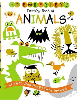 Book Ed Emberley's Drawing Book Of Animals by Ed Emberley