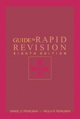 Book Guide To Rapid Revision by Daniel D. Pearlman
