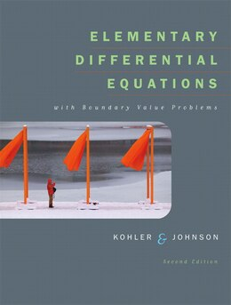 Book Elementary Differential Equations With Boundary Value Problems by Werner E. Kohler