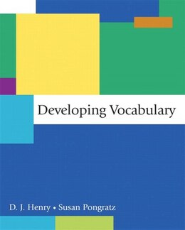 Book Developing Vocabulary by D. J. Henry