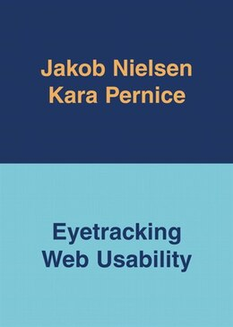 Book Eyetracking Web Usability by Jakob Nielsen