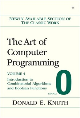 Book The Art of Computer Programming, Volume 4, Fascicle 0: Introduction to Combinatorial Algorithms and… by Donald E. Knuth