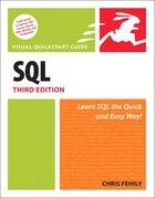 SQL: Visual QuickStart Guide