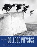 Essential College Physics, Volume 1