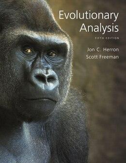 Book Evolutionary Analysis by Jon C. Herron
