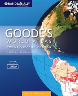 Book Goode's World Atlas by Rand Rand Mcnally
