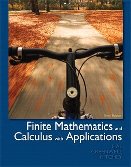 Book Finite Mathematics and Calculus with Applications by Margaret L. Lial